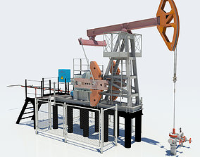3D asset Oil Pump-Jack