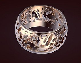 3D print model Ring 43