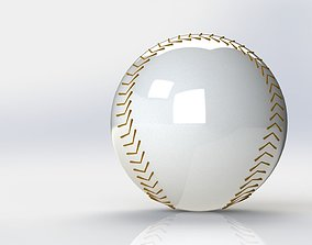 3D rigged Baseball Ball