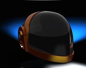 3D Daft punk helmet