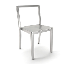 3D model emeco icon chair