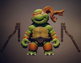 3D print model Chibi mutant ninja turtles - Mickey