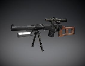 VSS Vintorez 3D model