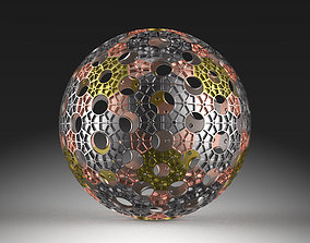 spherical 3D Sphere Construct 01