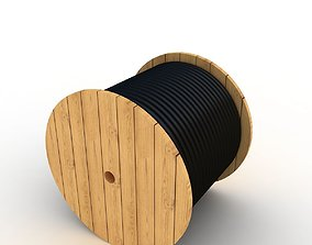 wire spool 3D model