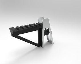 aa-12 sights rail 3D print model