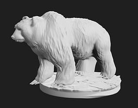 3D print model Grizzly Bear