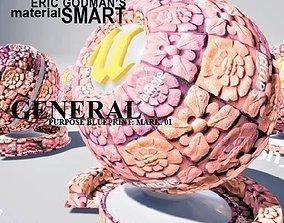 Material Smart General Blueprints Mark 01 3D