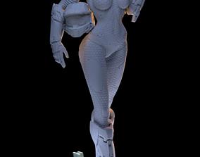 Female Halo Spartan Light Armor 3D print model