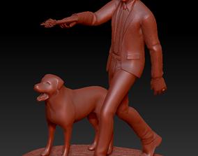 3D printable model John Wick