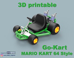 Mario Kart 64 Style Go-Kart - For 3D printable model 3