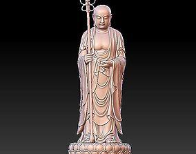 3D Ksitigarbha Bodhisattva