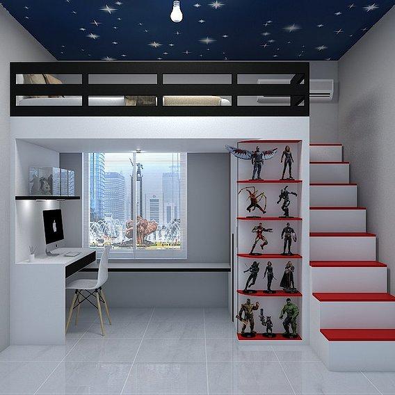 Interior Design Bedroom chill