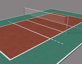 Volleyball Court 3D model