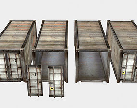 Shipping Container 3D asset realtime