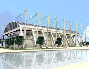 3D model Hockey stadium