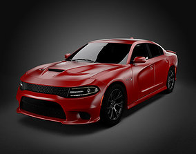 3D Dodge Charger Hellcat 2016