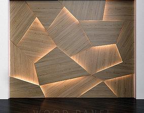 Wooden 3D panels