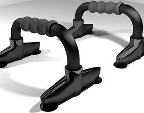 Exercise Equipment Push-up 3D model