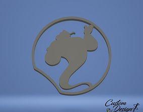 3D print model Disney Inspired Mouse Ears - Aladdin Genie