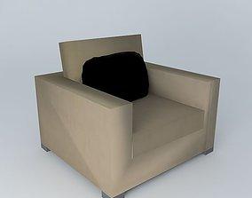 3D model elegance armchair
