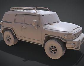 TOYOTA FJ Cruiser 2015 3D printable model