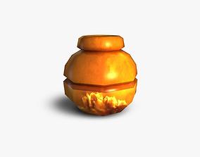 Pot 3D asset realtime