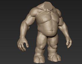 Creature Body Sculpt 14 3D