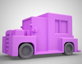Toy Truck 3D print model