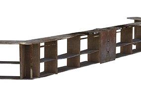 3D asset Old Bar Counter 01 01