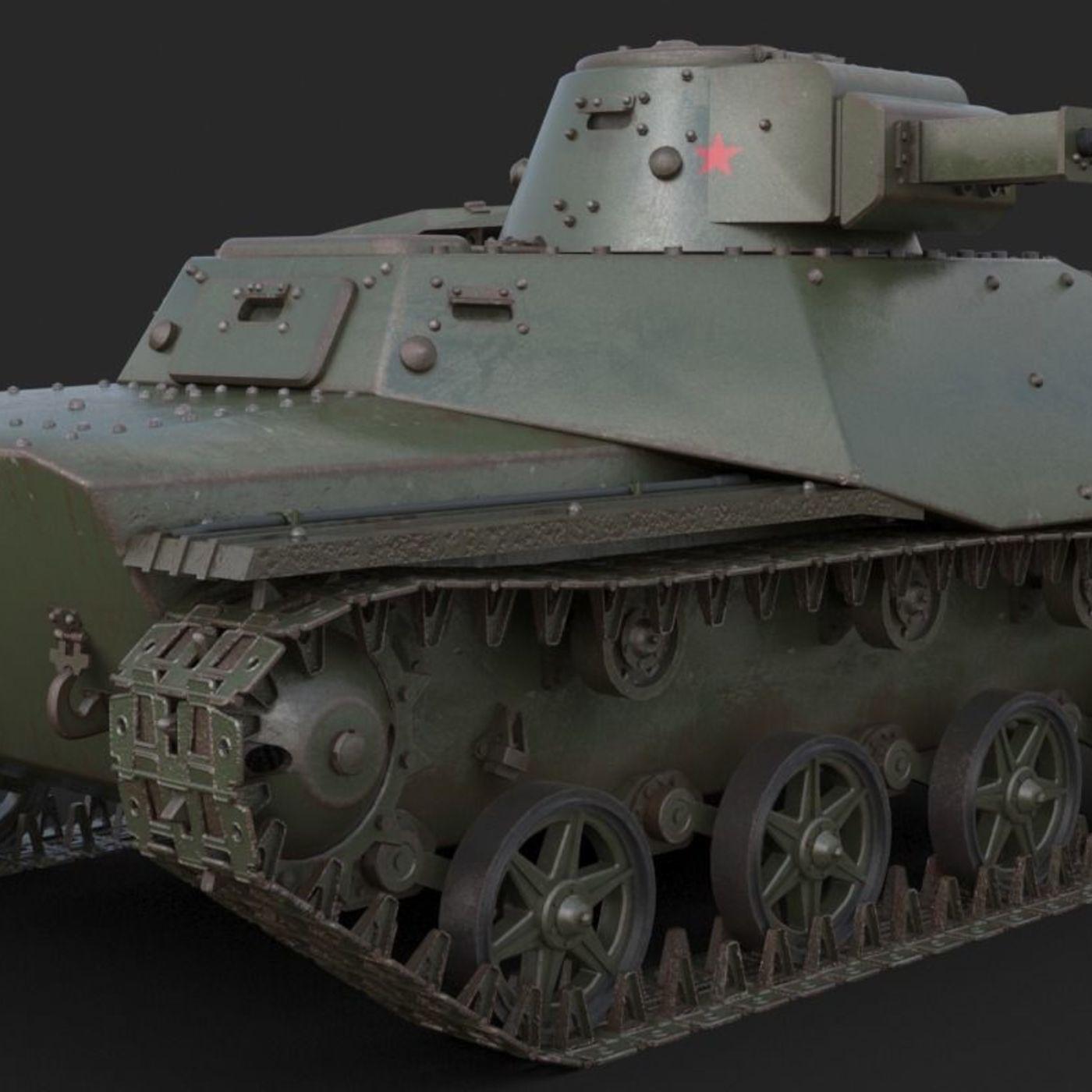 Tank T 40 Soviet