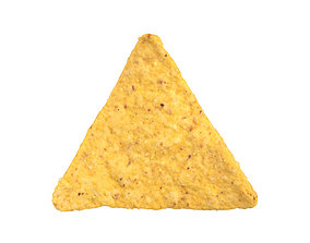 Photorealistic Tortilla Chip 3D Scan