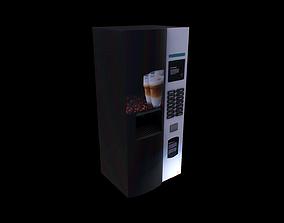 3D asset Coffee Vending Machine - Gest