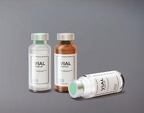 Vial Bottle 3D model