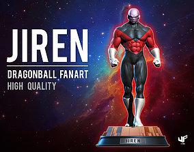 Jiren Dragon ball Fan art high quality 3D print model