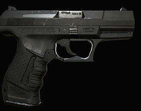 p99 lowpoly gun 3D model
