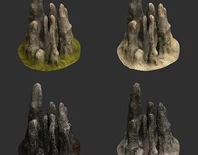 3D Stalagmites
