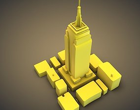 3D print model Empire State Building
