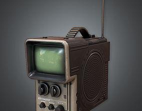 Portable Television 80s 3D model