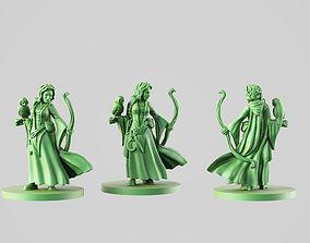 3D print model Druid girl