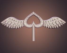 3D printable model Love wings