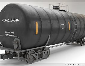 Tanker Car 3D model