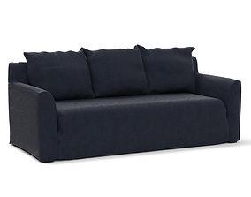 3D Coco Republic Sonoma Sofa