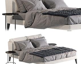 Bed Meridiani Kira Up 3D model