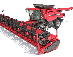 Tracked Combine Case 3D model