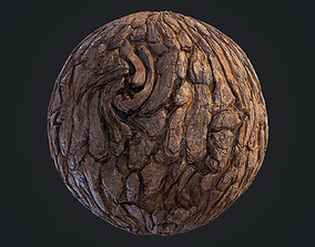 3D model textures Pine Bark Material