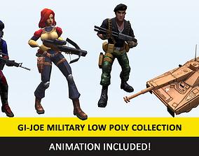 3D model Gi - Joe Military Character Animated Collection 2