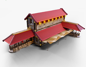house Chinese House 3D model