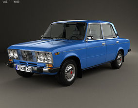 VAZ Lada 2106 1976 3D