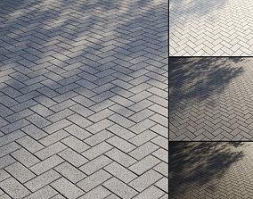3D Granite paving slabs Type 2